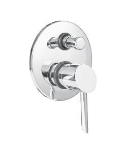 Unterputz Badewannen- / Duscharmatur Smart mit Umsteller